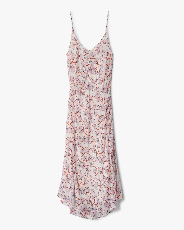 rag & bone Eva Floral Slip Dress 0