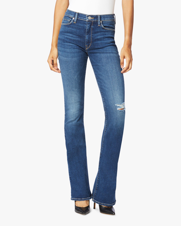 Hudson Barbara High-Waist Bootcut Jeans 0