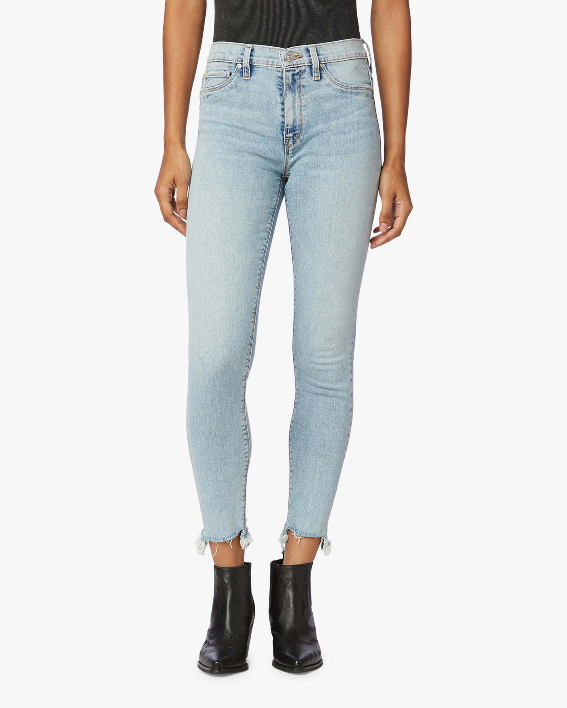 Hudson Barbara High-Waist Super Skinny Ankle Jeans 0