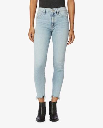 Hudson Barbara High-Waist Super Skinny Ankle Jeans 1