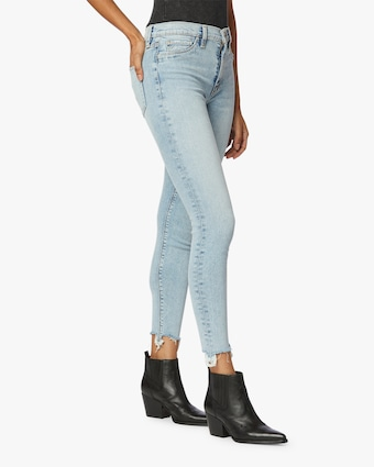 Hudson Barbara High-Waist Super Skinny Ankle Jeans 2
