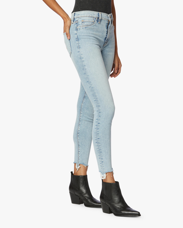 Hudson Barbara High-Waist Super Skinny Ankle Jeans 1