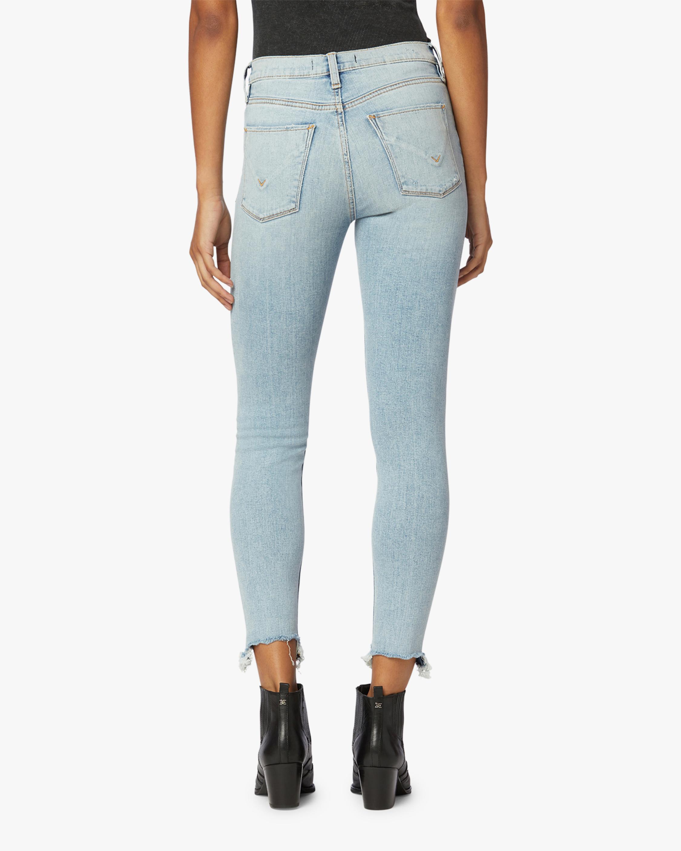 Hudson Barbara High-Waist Super Skinny Ankle Jeans 3