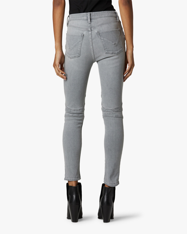 Hudson Barbara High-Rise Super Skinny Ankle Moto Jeans 3