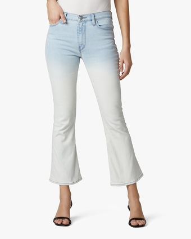 Hudson Barbara High-Waist Bootcut Cropped Jeans 1
