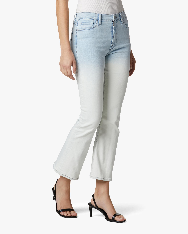 Hudson Barbara High-Waist Bootcut Cropped Jeans 2