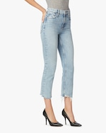 Hudson Remi High-Rise Straight Cropped Jeans 1