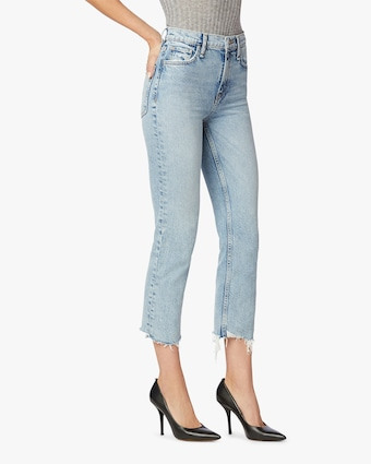 Hudson Remi High-Rise Straight Cropped Jeans 2