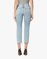 Hudson Remi High-Rise Straight Cropped Jeans 3
