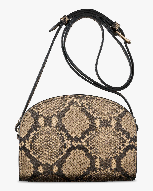 A.P.C. Demi-Lune Mini Crossbody Bag 1