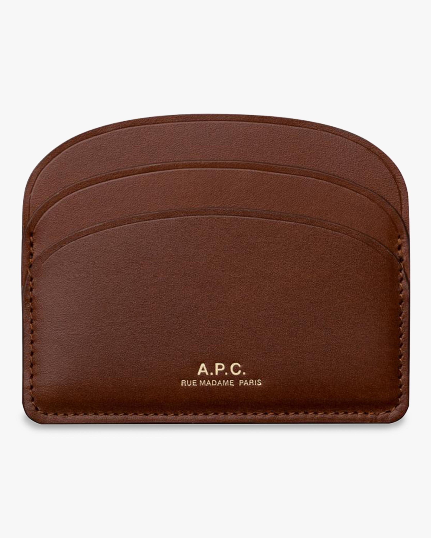 A.P.C. Demi Lune Card Holder 1