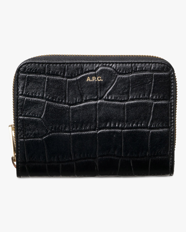 A.P.C. Emmanuelle Compact Wallet 0