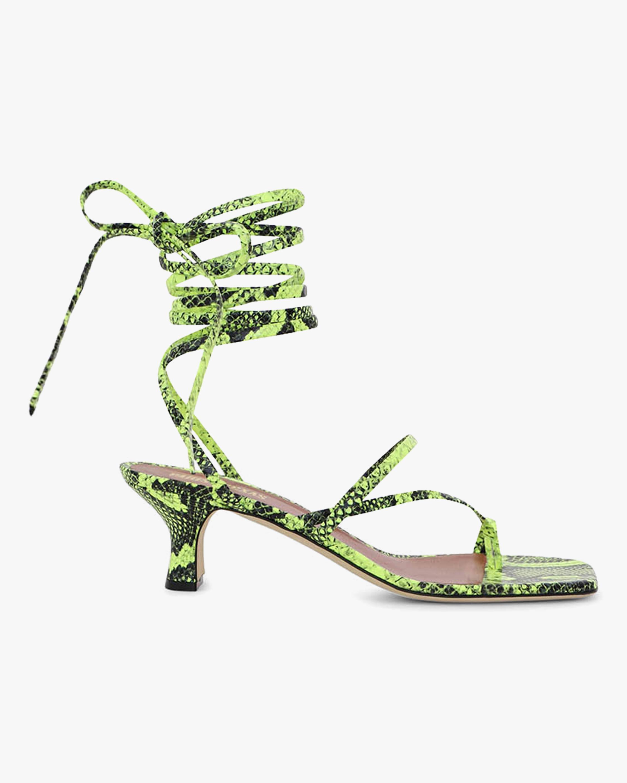 Paris Texas Betty Lace Up Sandal 0