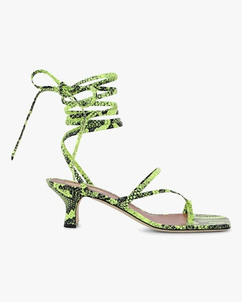 Paris Texas Betty Lace Up Sandal 1