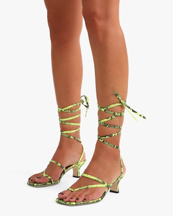 Paris Texas Betty Lace Up Sandal 2