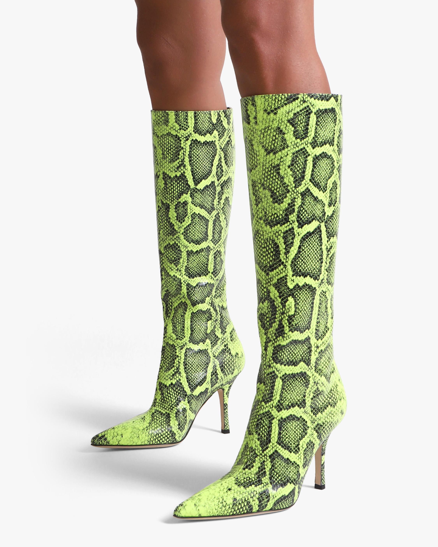 Paris Texas Python Print Mama Boot 1