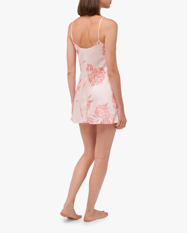 La Perla Floral Silk Short Slip Dress 2