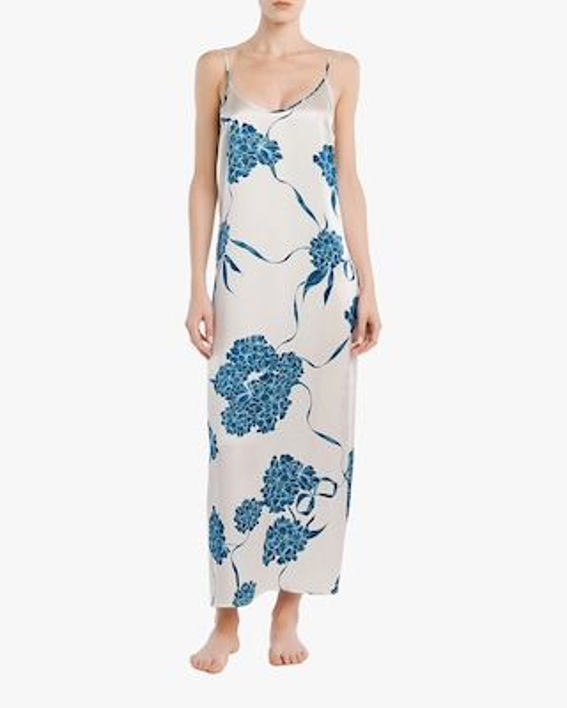 La Perla Floral Silk Long Slip Dress 2