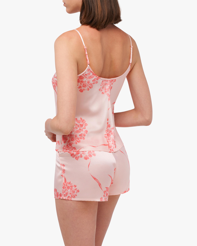 La Perla Floral Camisole Silk Pajama Set 1