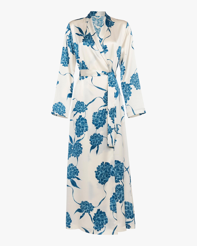 La Perla Floral Long Slip Robe 0