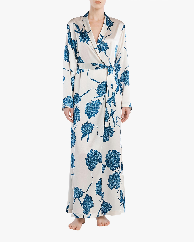 La Perla Floral Long Slip Robe 2