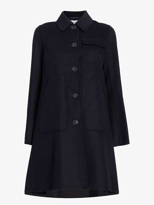 Carven Wool Peacoat 0