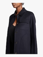 Carven Wool Peacoat 2