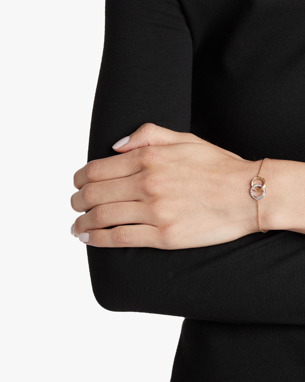 Delicati Diamond Link Bracelet