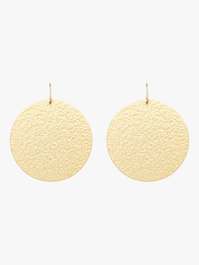 Paris Round Solid Earrings