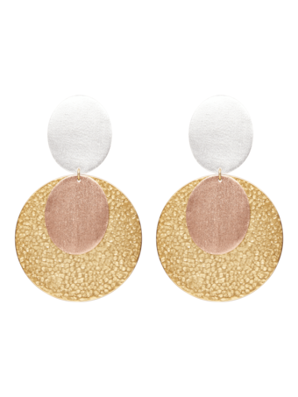 Sunset Clip-On Earrings