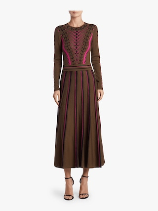 Ida Knit Flared Dress