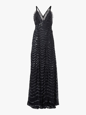 Panther Lace Long Dress