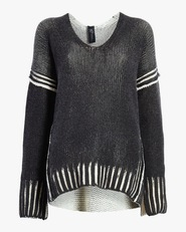 Slash V-Neck Pullover Sweater