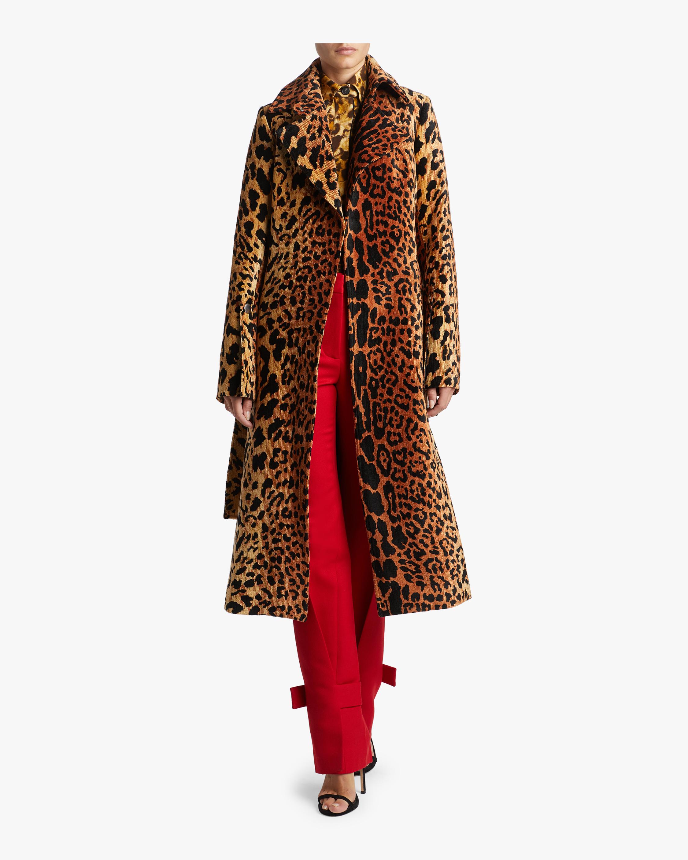 Split Sleeve Fitted Coat