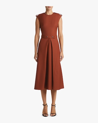 Belted Midi Dress