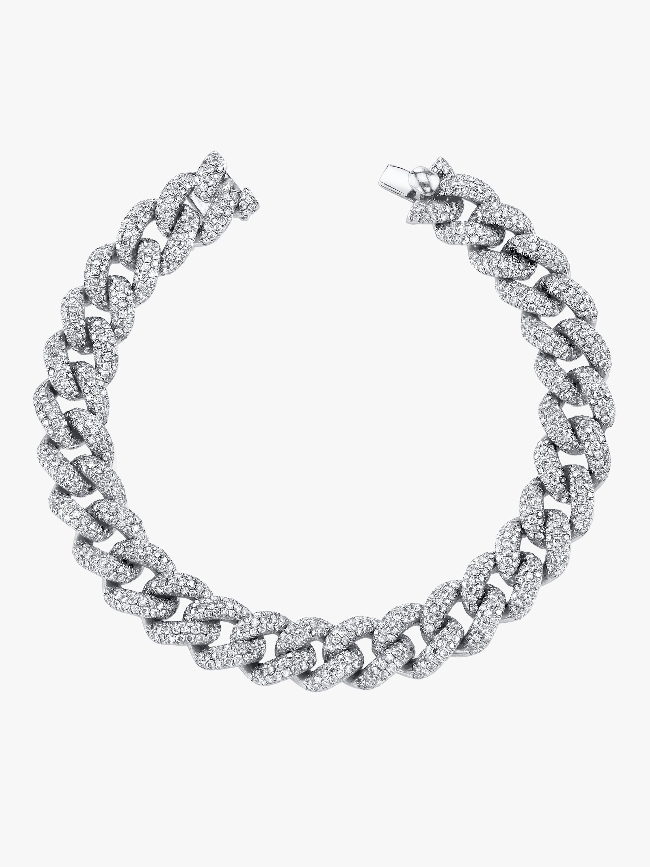 Essential Full Link Pavé Bracelet
