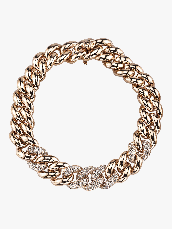 Essential Five Link Pavé Bracelet