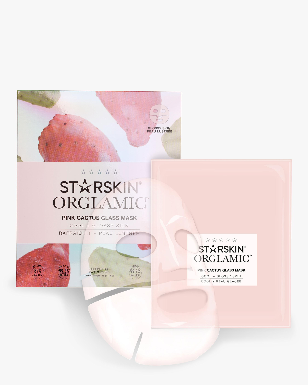 Pink Cactus Glass Mask