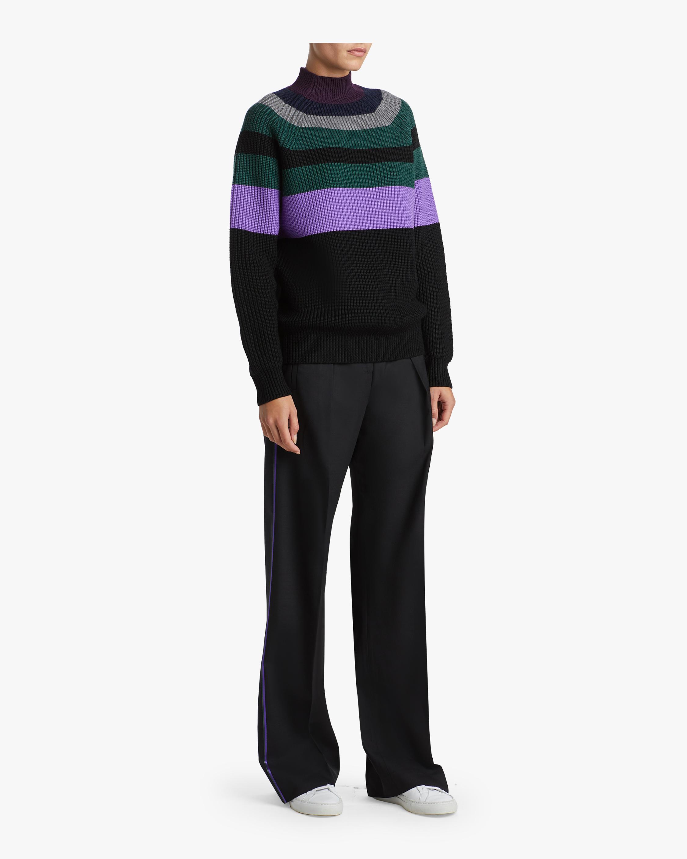 Victoria Victoria Beckham Raglan Boyfriend Sweater 1