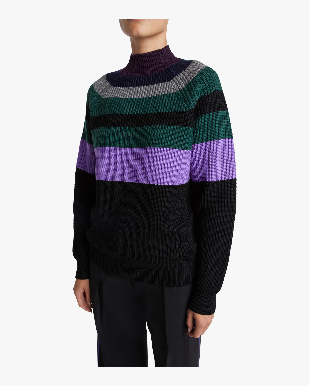 Victoria Victoria Beckham Raglan Boyfriend Sweater 2