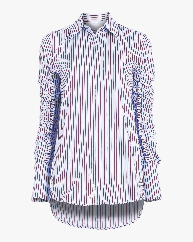Gathered Sleeve Shirt