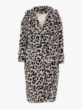 Edy Oversized Leopard Coat