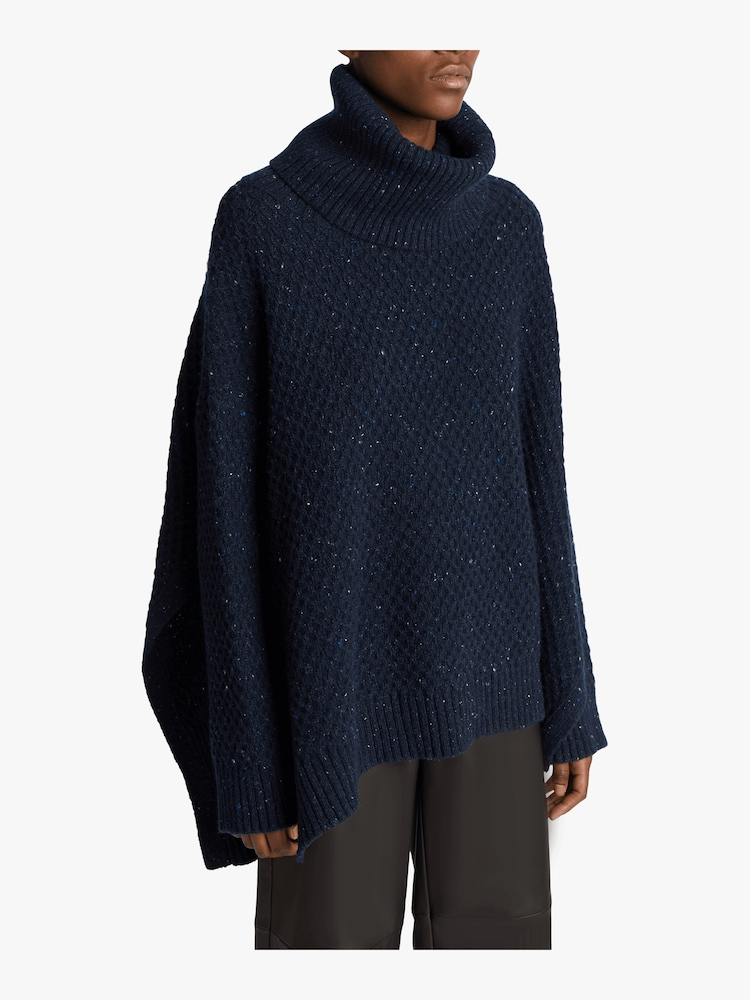 Marled Cashmere Turtleneck Sweater Adam Lippes