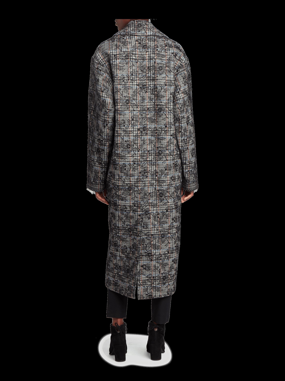 Scottish Tweed Cocoon Coat Adam Lippes