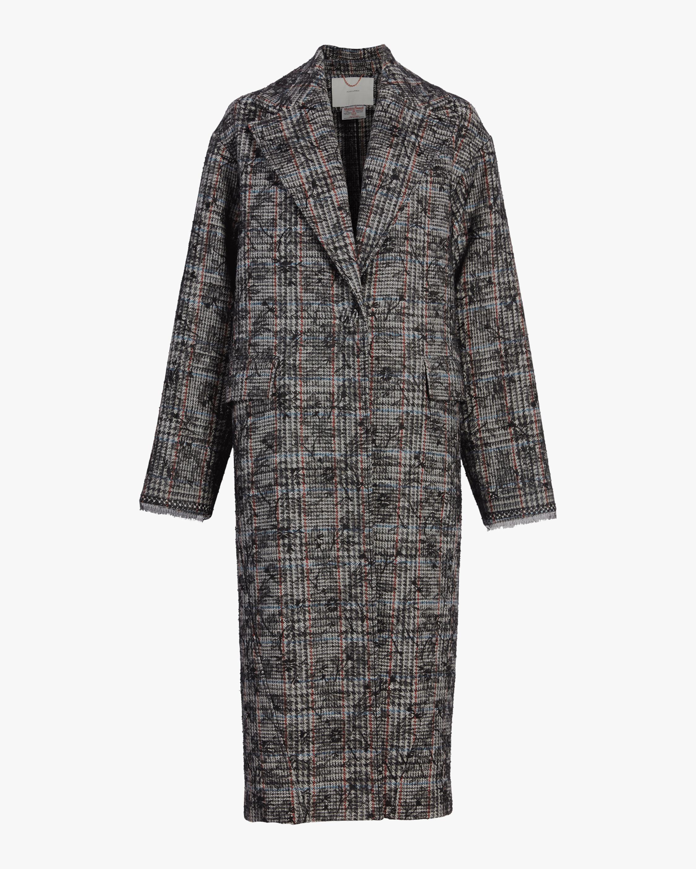 Scottish Tweed Cocoon Coat