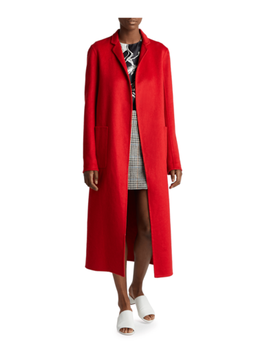 Zibelline Cashmere Fitted Coat