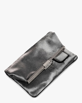 PM Hair Calf Clutch