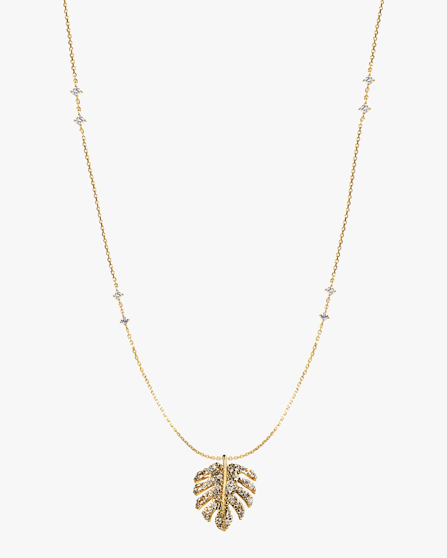 Essere Shiny Tropical Diamond Pendant Necklace 0