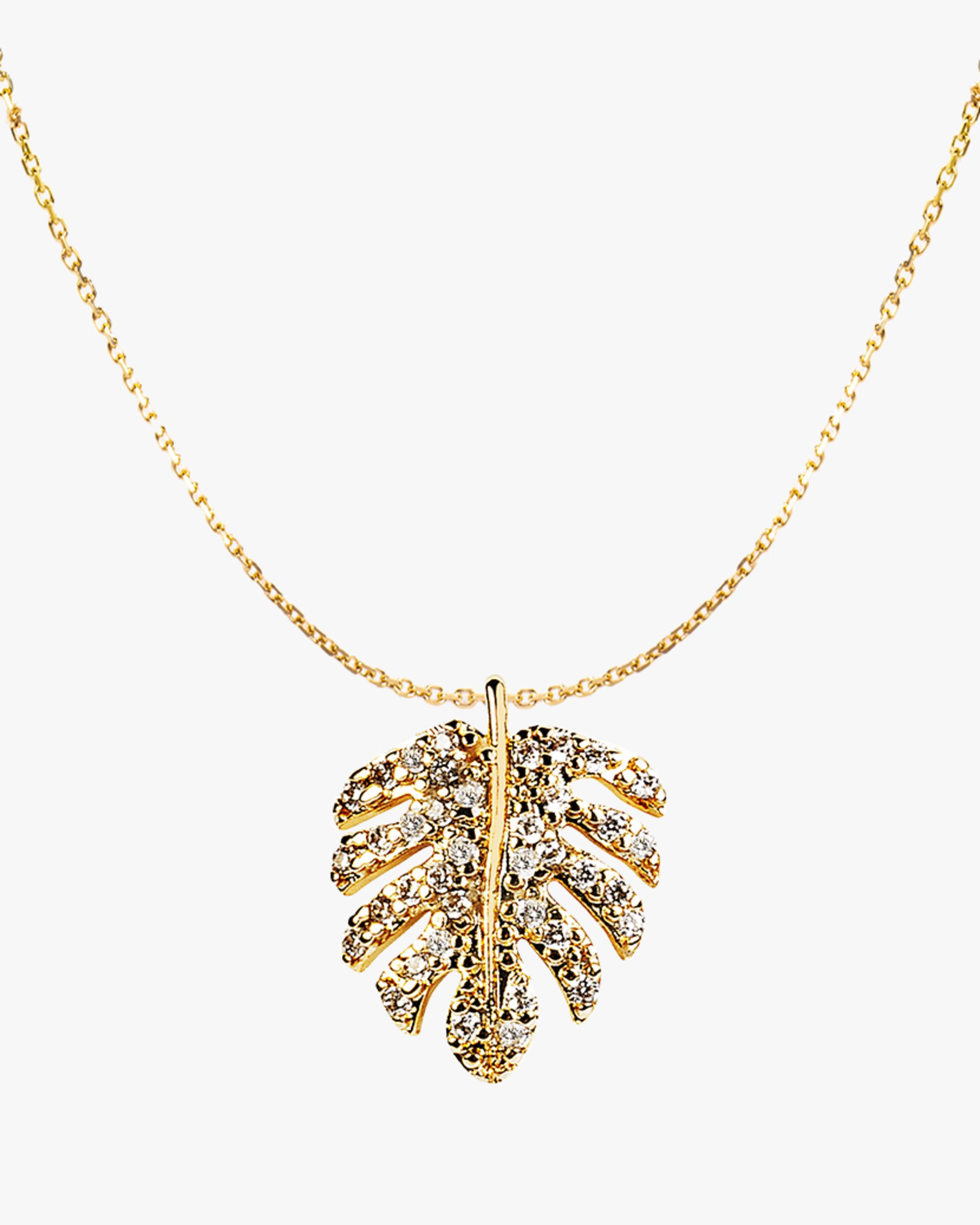 Essere Shiny Tropical Diamond Pendant Necklace 2
