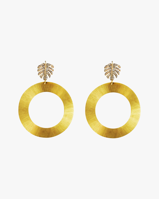 Essere Maxi Tropical Hoop Earrings 1